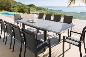 mobilier outdoor luxe allure salon de jardin tabouret de bar coffre de rangement