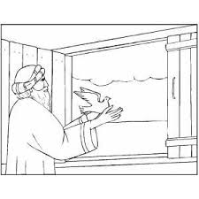 flood coloring pages noah freeing dove coloring page