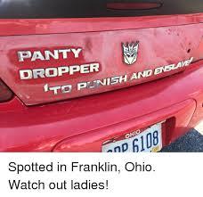 Panty Dropper Meme - panty dropper ftd pltnis ohio bucket he np 117 spotted in franklin