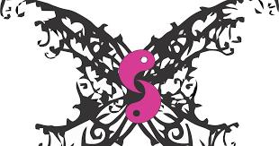 yin yang a day day 51 butterfly yin yang