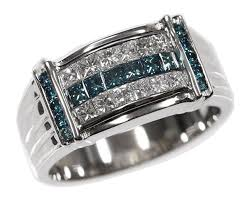 blue diamond wedding rings mens blue diamond rings wedding promise diamond engagement