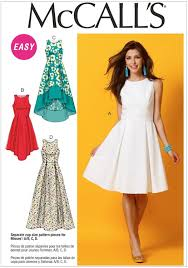 misses dresses mccalls pattern 6953 sewing patterns