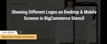 how to show different logos on desktop and mobile screens in