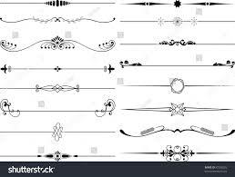 exquisite ornamental page decoration designs elements stock vector