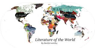Book Map This Literature Map Shows The Best From Each Country Bookstr