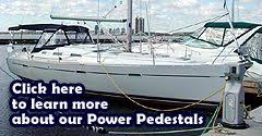 Marine Power Pedestals Power Marine Centre Power Pedestals And Ez Dock Systems For