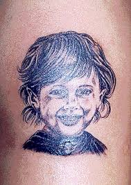 tattoos of portraits faces and people