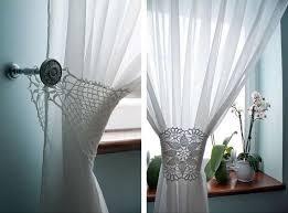 Crochet Lace Curtain Pattern 320 Best Crochet Curtains Images On Pinterest Crochet Curtains