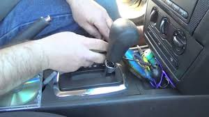 2008 ford fusion shift knob replacement youtube