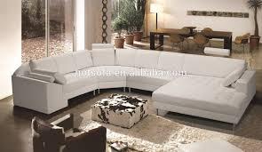 White Leather Corner Sofa Sale Wood Chaise Lounge Sofa For Australia Market C Shape Sofa View
