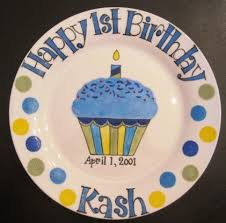 personalized birthday plate happy birthday plates painted personalized gifts