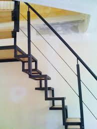 escalier design bois metal escalier à pas japonais renoveo