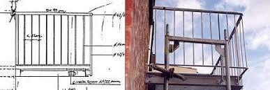 freitragende balkone metallarbeiten balkone veranda und brüstungen freitragender