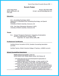Psychology Resume Examples by Outstanding Counseling Resume Examples To Get Approved