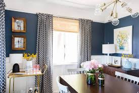 Curtain For Dining Room by Sylvia U0027s Makeover Dining Room Emily Henderson