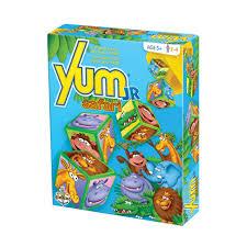 jeux de société yum junior safari with friends éditions gladius