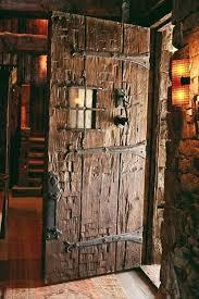 Front Door Metal Decor Best 25 Rustic Front Doors Ideas On Pinterest Stained Front