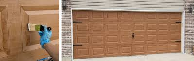 how to paint your garage door to look like wood u2013 giani inc