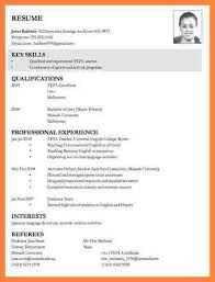 exle of curriculum vitae in malaysia curriculum vitae for job application exle of resume in malaysia