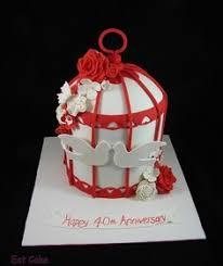 ruby wedding cakes ruby wedding anniversary cake cakes ruby wedding