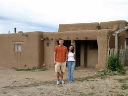 cool adobe home on image a pueblo adobe house plan design to build