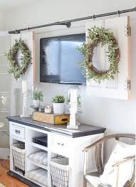 kitchen television ideas home decorating ideas kitchen diy television cover with doors