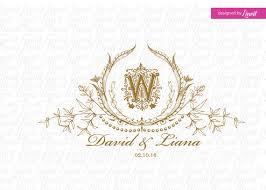 wedding backdrop logo vintage wedding monogram wedding logo wedding crest custom wedding