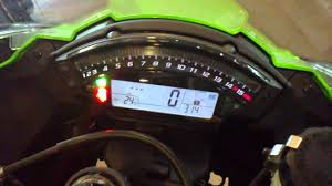 2011 zx10r meter cluster youtube