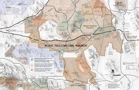 Black Rock Desert Map Mojave Trails Mojave Monuments