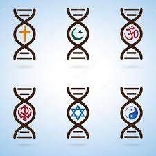 Dna Meme - dna and religion meme creationism vs evolution stock vector