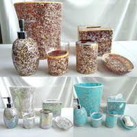 Glass Bathroom Accessories Sets Wholesale Bath Accessory Set In Bathroom Accessories Buy Cheap