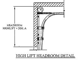 Overhead Door Track Overhead Door Company Of Central Jersey Low Headroom Track