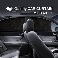 vip lexus curtains qoo10 luxury universal car curtains 2 in 1set high quality