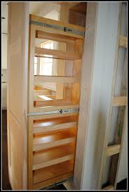 Kitchen Cabinet Organizers Ideas Furniture Appealing Oak Unfinished Pantry Cabinet With Pull Out