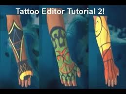 far cry 3 tattoo editor tutorial 2 youtube