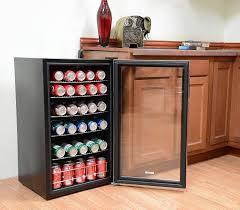 mini bar refrigerator glass door glass door beverage fridge