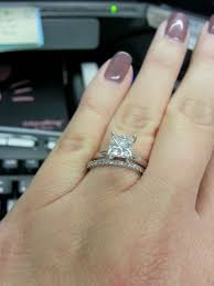 plain engagement ring with diamond wedding band solitaire engagement ring with diamond wedding band show me your
