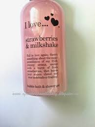 love u2026 strawberries and milkshake bubble bath and shower gel review