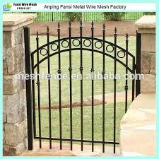 iron fence for garden wrought iron garden wall fence garden