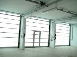 Industrial Overhead Door by Sectional Industrial Door Fiberglass Semi Glazed Sunline 40