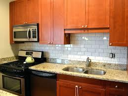 kitchen backsplash glass subway tile glass wall tiles white