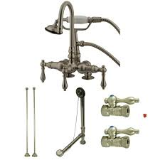 Claw Tub Faucets Kingston Brass Cck13t5 Vintage Deck Mount Claw Foot Faucet Package