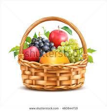 basket of fruits fruit basket stock images royalty free images vectors