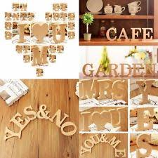 10x1 5cm thick wood wooden letters alphabet diy bridal unbranded wooden letters decorative plaques signs ebay