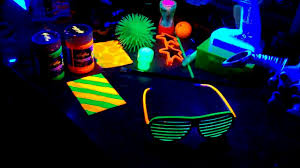 Blacklight Halloween Party Ideas by Black Light Party Decor Ideas Decorating Of Party
