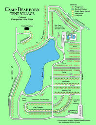 Michigan Campgrounds Map by Camp Dearborn 13 Photos Milford Mi Roverpass