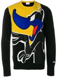 iceberg sweater iceberg daffy duck knit sweater 538 buy aw17 fast