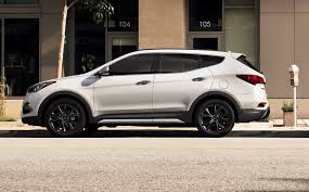 hyundai santa fe car price hyundai reveals updated 2017 santa fe santa fe sport in chicago