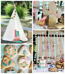 Indian Themed Party Decorations - kara u0027s party ideas little indians themed birthday party