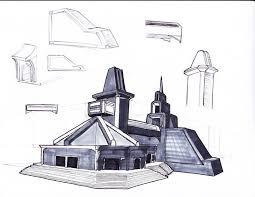 concept sketch 2011 building sketches 1